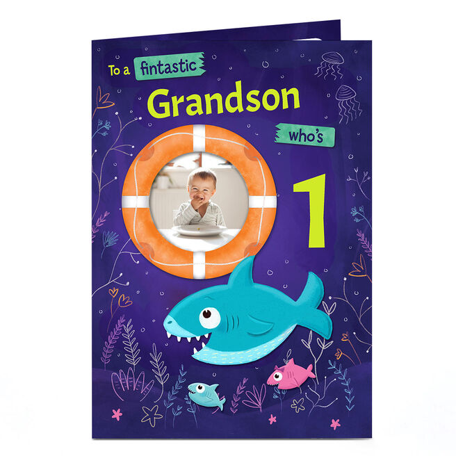 Photo Birthday Card - To A Fintastic...