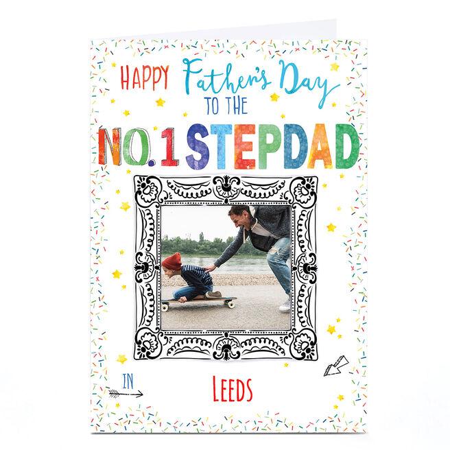 Photo Nik Golesworthy Father's Day Card - No 1 Stepdad