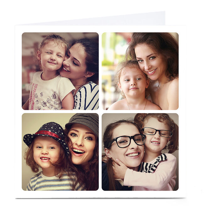 Photo Card - 4 Square Photos