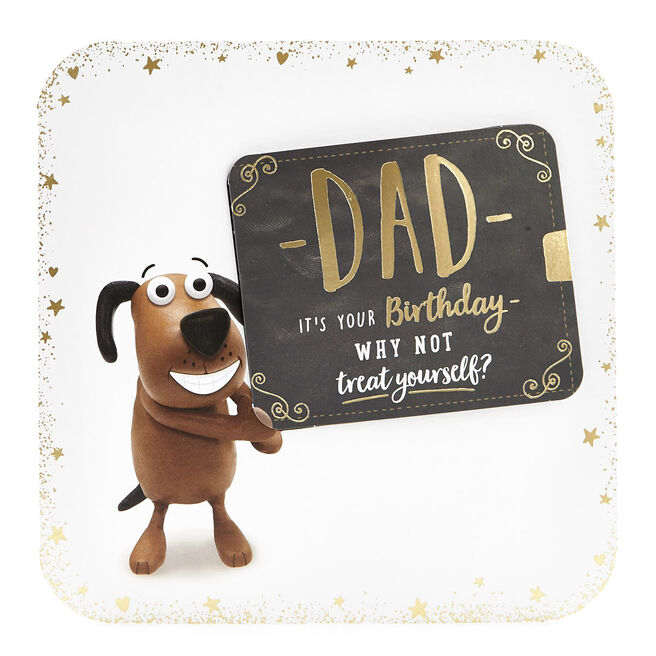 Exquisite Collection Birthday Card - Dad Pop-Up Card