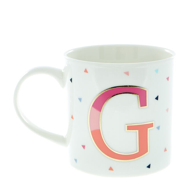 Letter G Alphabet Mug