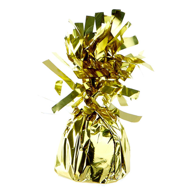 Gold Foil Balloon Weights - Pack of 12