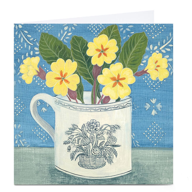 Marie Curie Charity Card By Debbie George