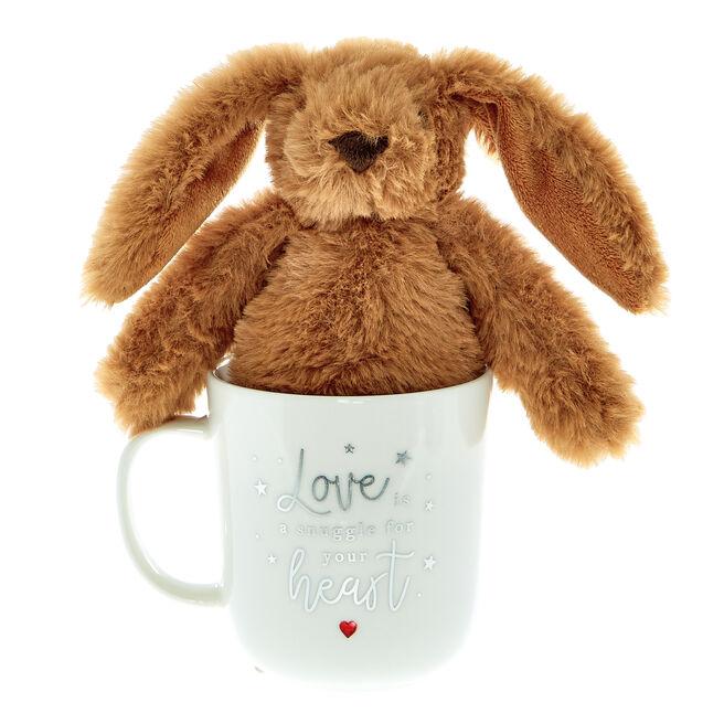Heartstring Mug & Bunny Plush
