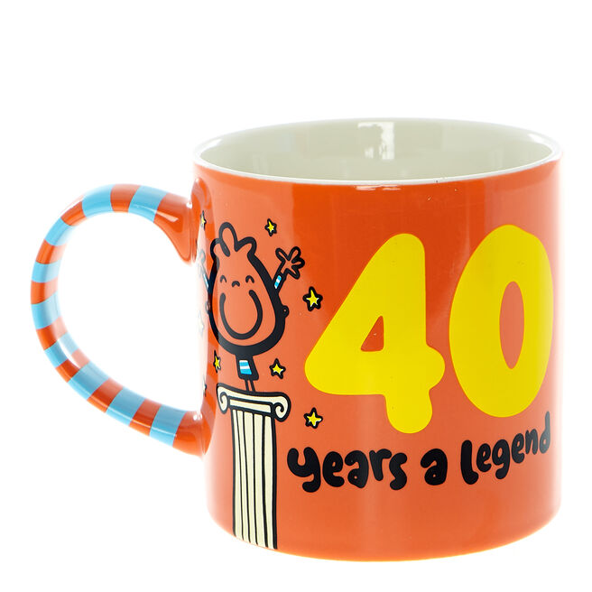 Fruitloops 40th Birthday Mug