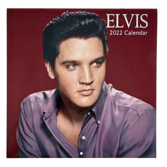 Elvis 16-Month 2022 Calendar