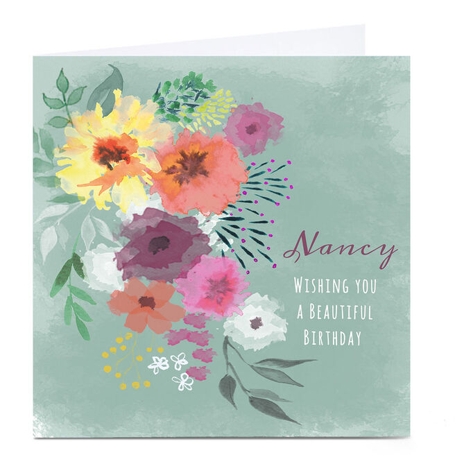 Personalised Emma Isaacs Birthday Card - Beautiful Birthday
