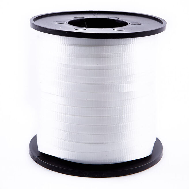 White Curling Ribbon - 500 Yards