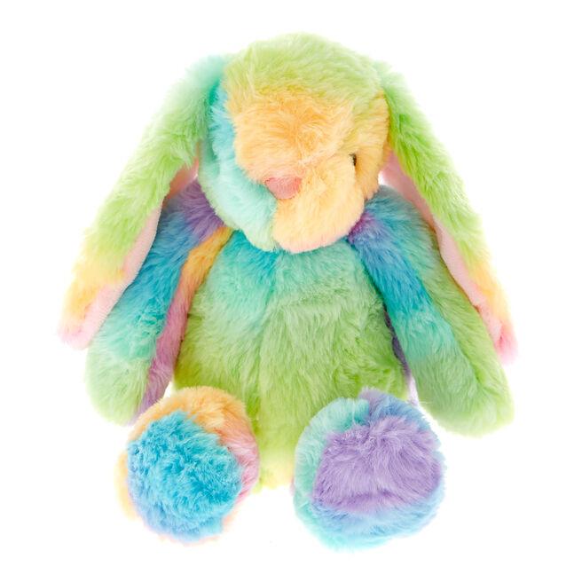 Pastel Rainbow Bunny Soft Toy