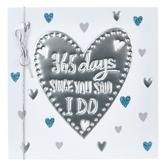 Boutique Collection First Anniversary Card - 365 Days...