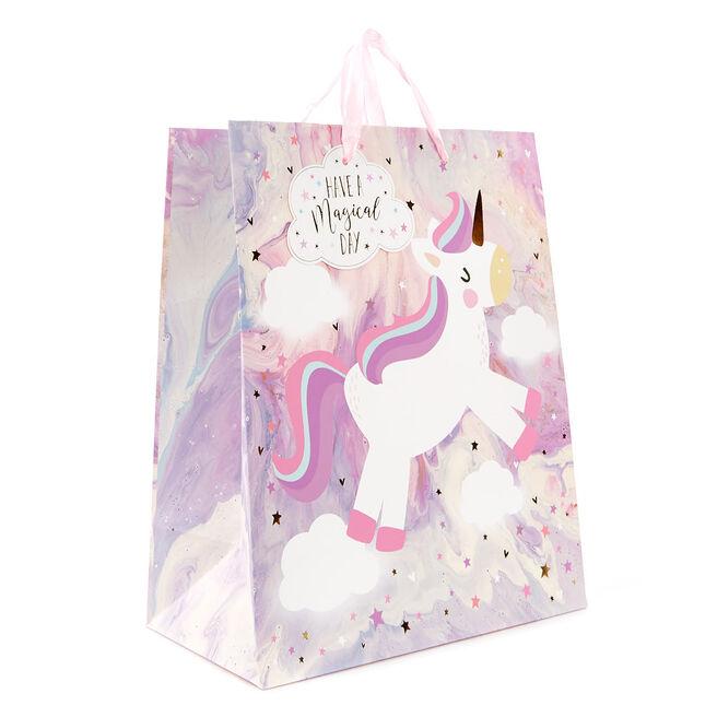 Medium Unicorn Magical Day Gift Bag