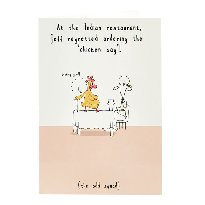 Any Occasion Card - Chicken Sag