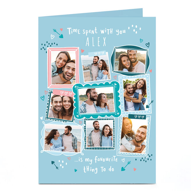 Photo Valentine's Day Card - Time Spent with You