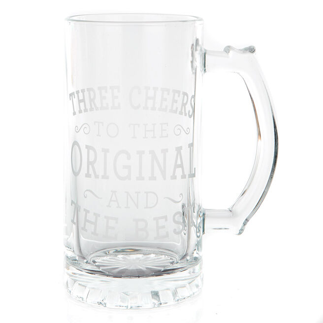 Glass Tankard - The Original & The Best