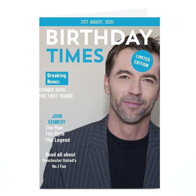 Photo Birthday Photo Card - Birthday Times
