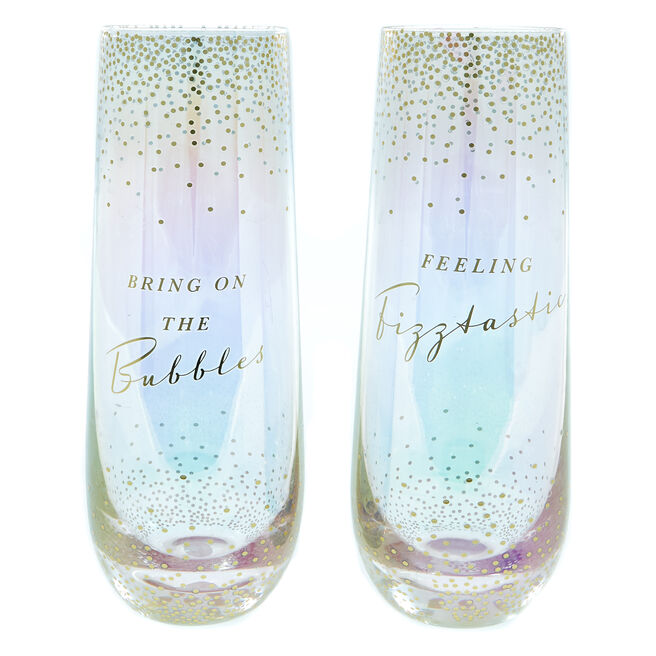 Friendship Champagne Flutes - Set Of 2
