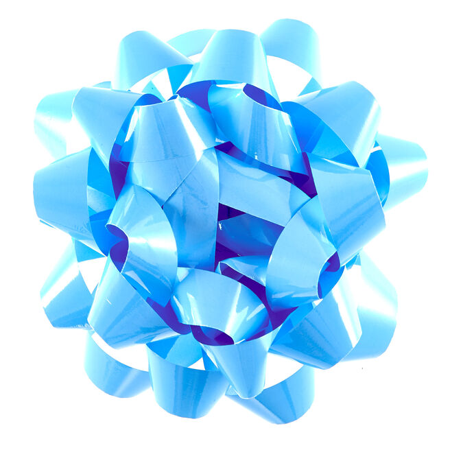 Light Blue Giant Gift Bow