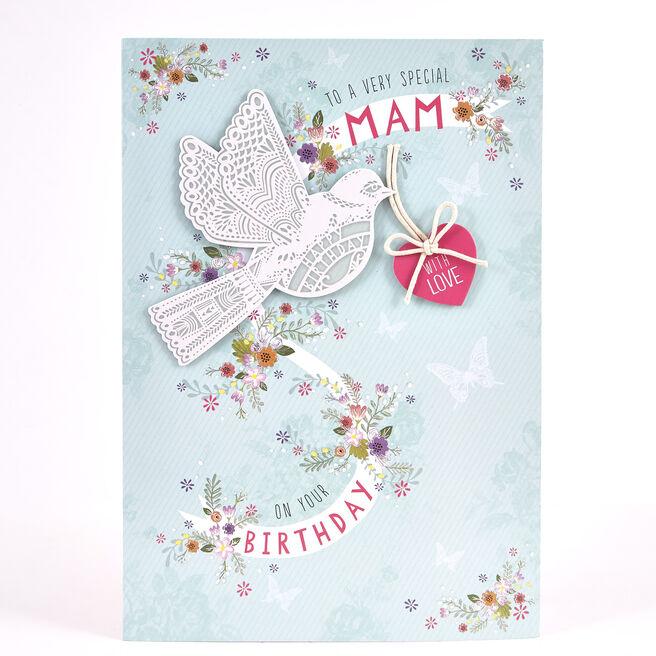 Signature Collection Birthday Card - Mam Bird