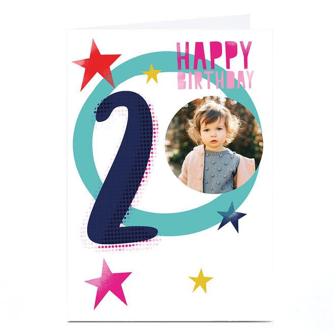 Photo Hello Munki 2nd Birthday Card