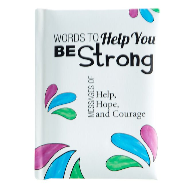 Blue Mountain Arts Keepsake Book - Words To Help You Be Strong