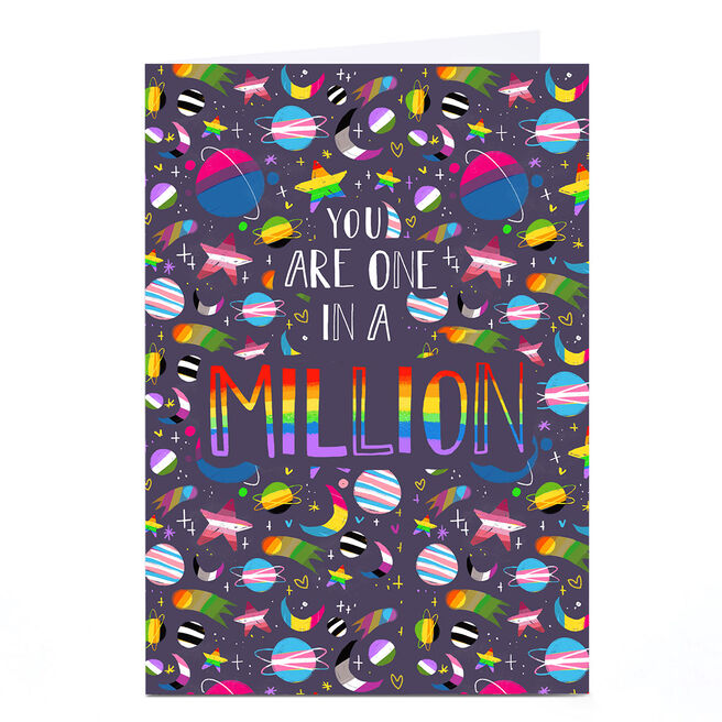Personalised Raluca Farcas Card - One In A Million