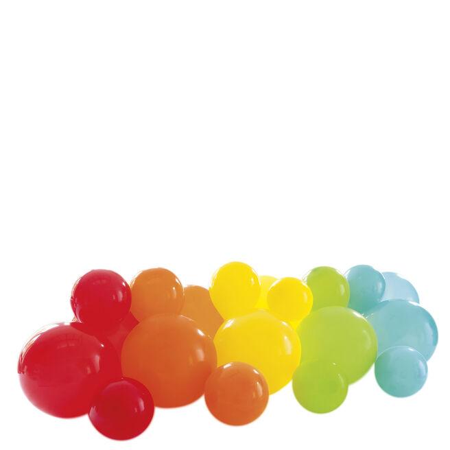 Rainbow Balloon Garland Table Runner Kit