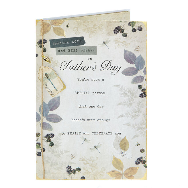 Father's Day Card - Sending Love & Best Wishes