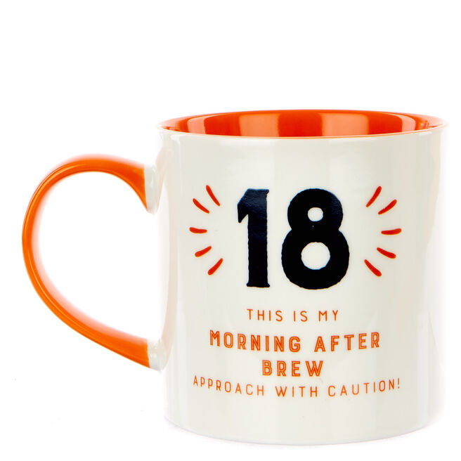 18th Birthday Mug - My Morning After Brew