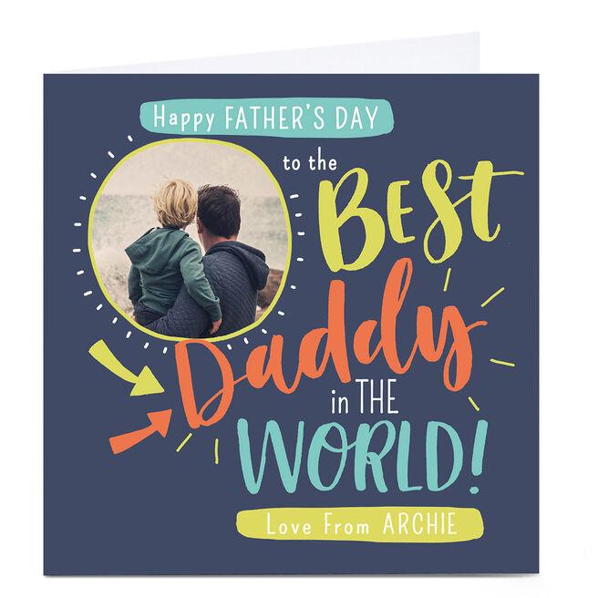 Photo Nikki Whiston Father's Day Card - Daddy