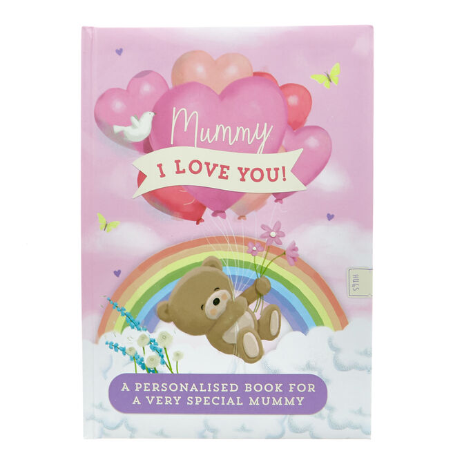 Hugs Bear Mummy I Love You Activity Book