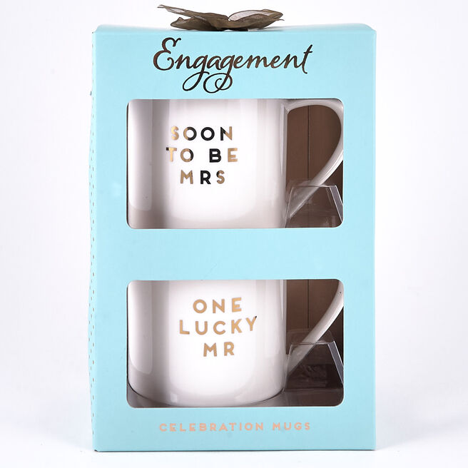 Engagement Celebration Mugs