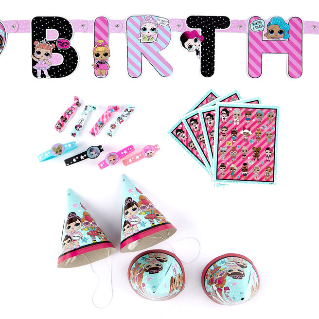 L.O.L. Surprise! Birthday Party Accessories Kit - 49 Pieces