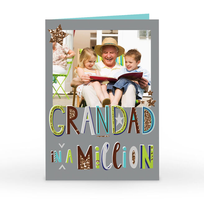 Photo Father's Day Card - Grandad In A Million