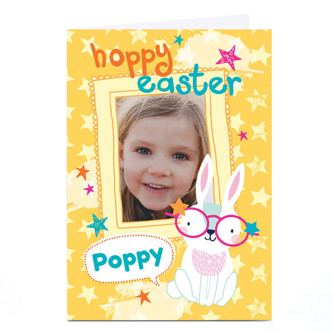 Photo Bev Hopwood Easter Card - Bunny