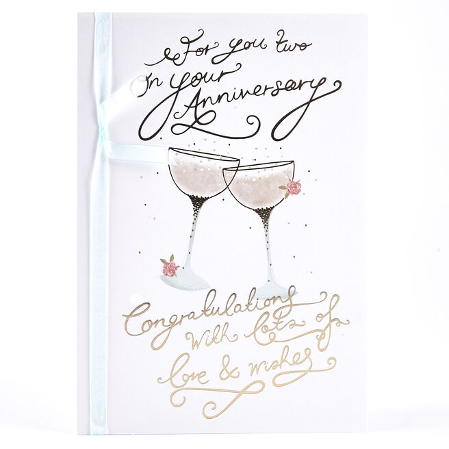 Anniversary Card - For You Two
