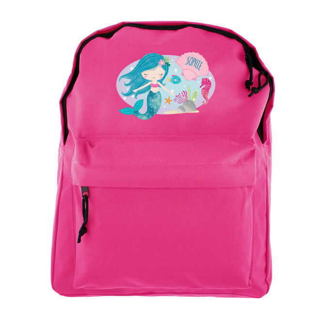 Personalised Backpack - Mermaid