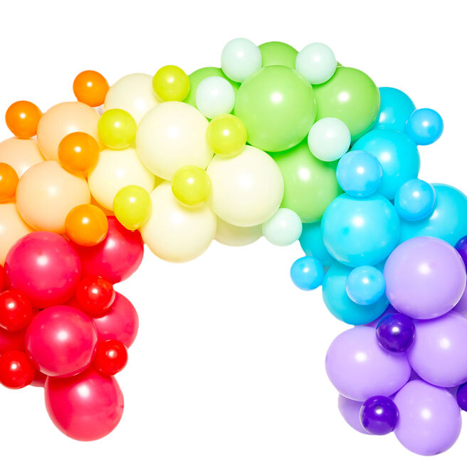 DIY Balloon Garland Kit - Rainbow