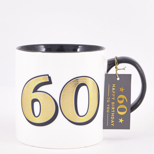 60th Birthday Mug - Classic Collection