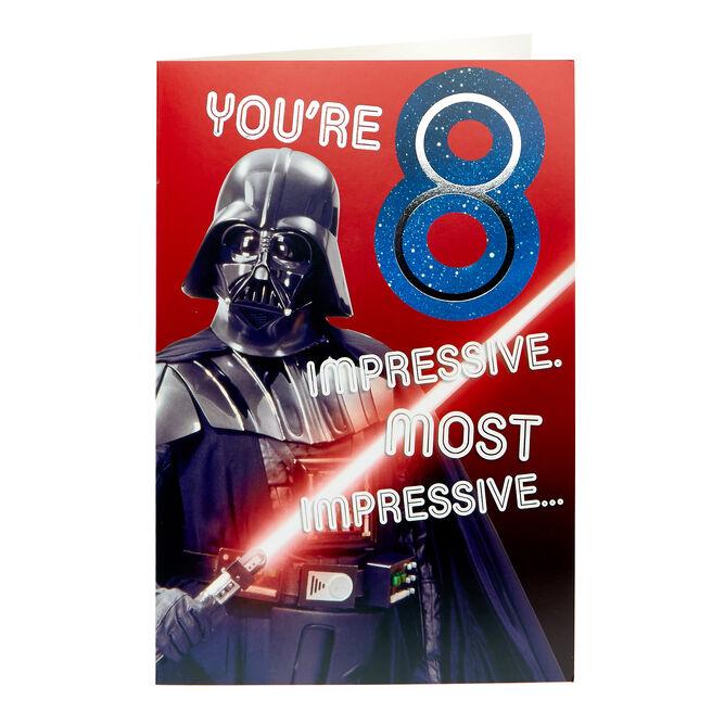 Star Wars 8th Birthday Card