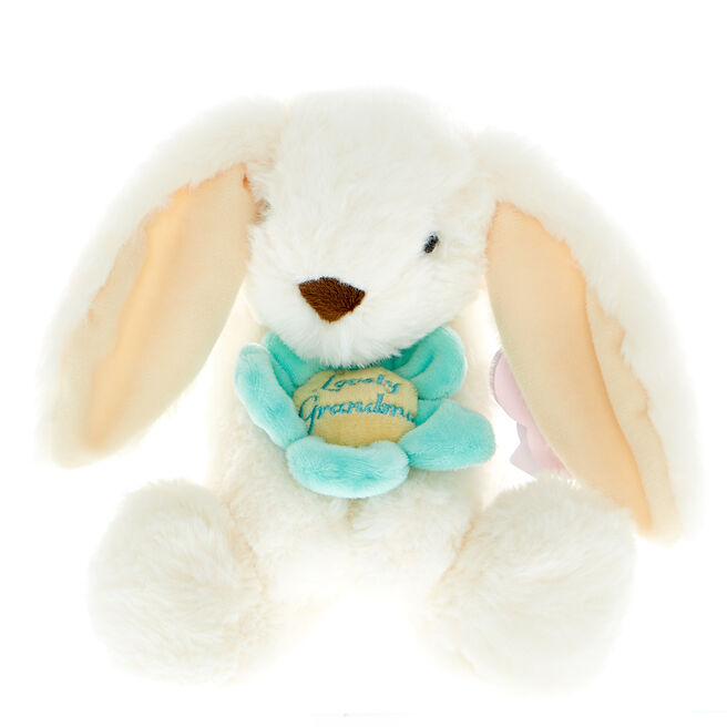 Lovely Grandma Bunny Soft Toy