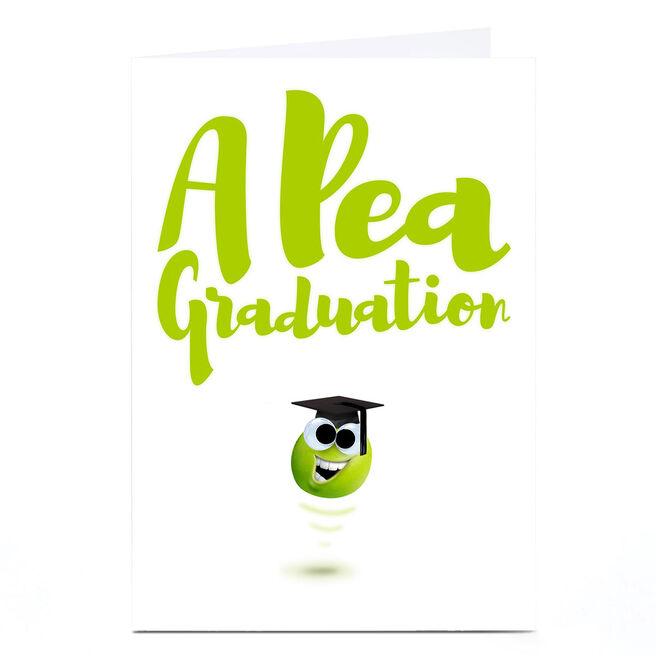 Personalised PG Quips Graduation Card - Apea Graduation!