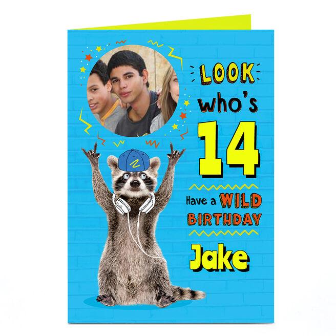 Photo Birthday Card - Have a Wild Birthday
