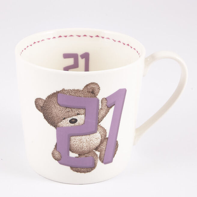 21st Birthday Hugs Mug