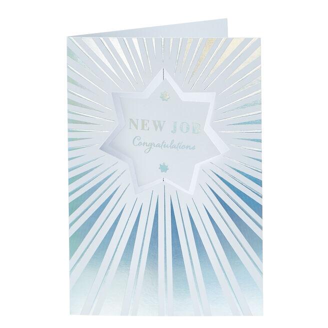 New Job Card - Silver Star