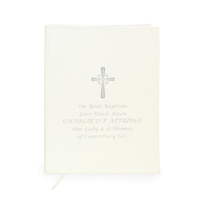 Personalised Silver Companion Eco-friendly Bible