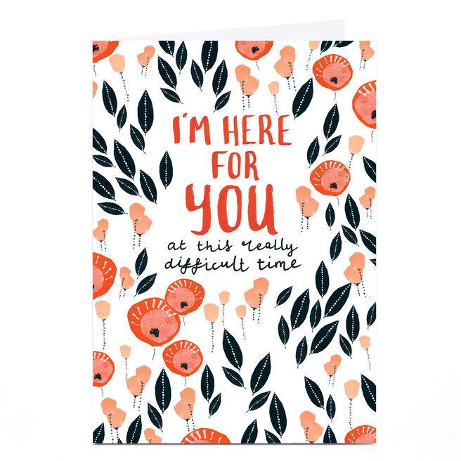 Personalised Rebecca Prinn Card - I'm Here For You