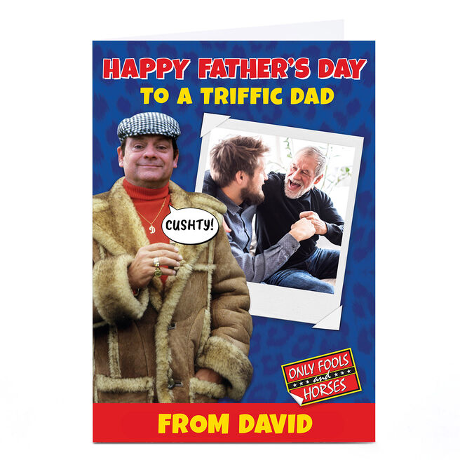 Personalised Only Fools & Horses Father's Day Card - Triffic