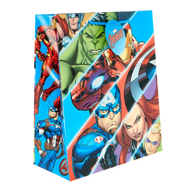 Medium Portrait Marvel Avengers Gift Bag