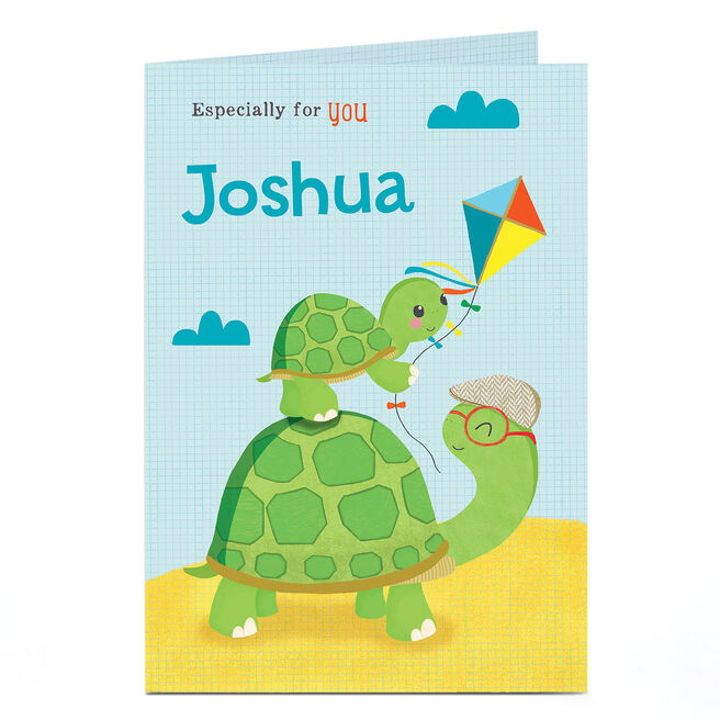 Personalised Card - Tortoises