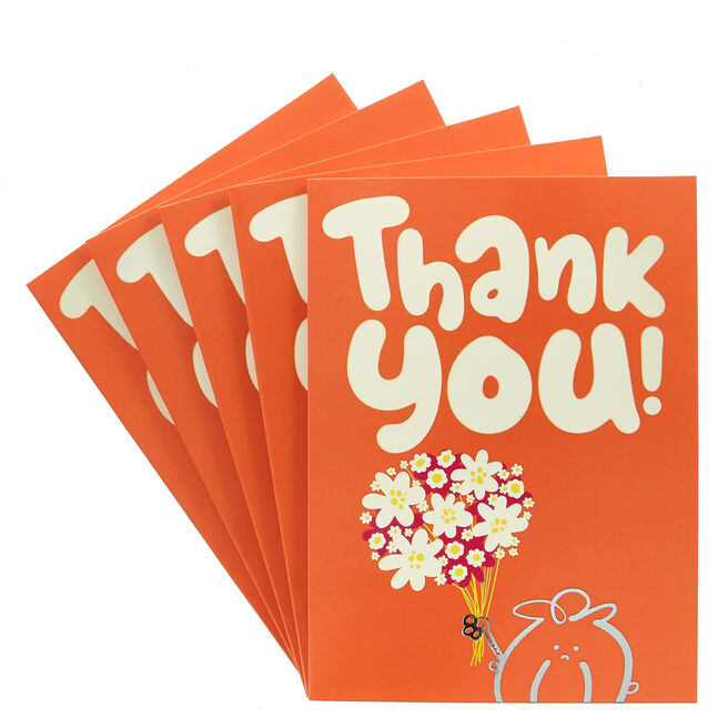 Fruitloops Thank You Cards - Pack Of 12